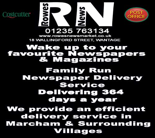Rowes Newsmarket call 01235 763134